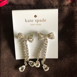 Kate Spade Pearly Glow Earrings New